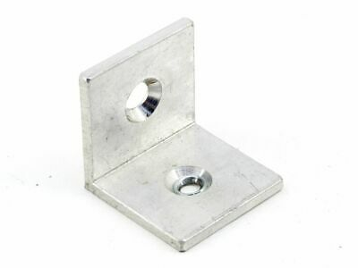 Aluminium 4mm Mounting 2x Hole L-ANGLE Metal Mount Connection 40x40x40mm
