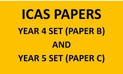 ICAS Papers Year 4 + Year 5 Set (more than 125 papers)