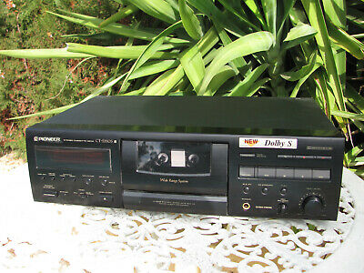 Pioneer CT-S550S Professional 3 Head Cassette Deck With Dolby B,C & S As New