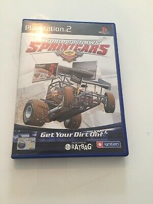 World of Outlaws Sprint Cars 2002 (Sony PlayStation 2, 2002) - US Version