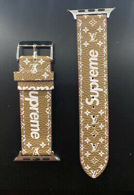 Apple Watch Band Supreme Louis Vuitton 40mm & 44mm