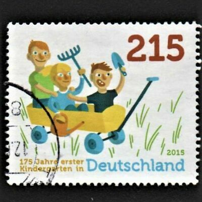 OLD STAMP GERMANY 2015 cv£13.50 ANNIVERSARY OF FIRST GERMAN KINDERGARTEN USED