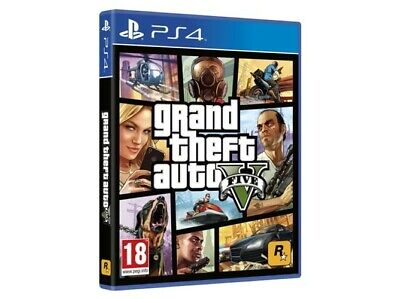 Grand Theft Auto V ( GTA ) PS4 DIGITAL EUR LOW COST !