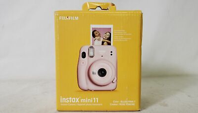 Fujifilm Instax Mini 11 Instant Print Film Camera Blush Pink