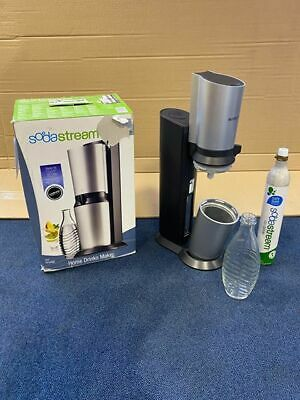 SodaStream crystal sparkling water maker. soda stream