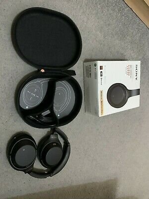 Sony WH-1000XM3 Over the Ear Wireless Headphones - Black *hardly used*