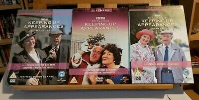 Keeping Up Appearances DVD Bundle - Series 1 & 2, 3 & 4, and Series 5