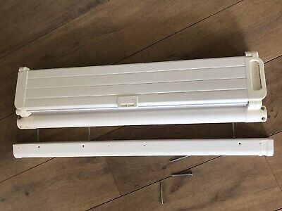 Baby Dan Stair Door Gate Auto Retractable Safety Guard Fits Openings 55 to 89cm