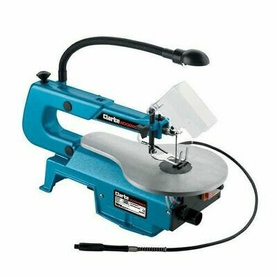 """Clarke CSS400C 16"""" Variable Speed Scroll Saw 6462152"""