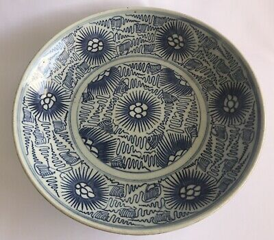 Chinese Qing Daoguang 道光 Early 19th Century Blue White Plate