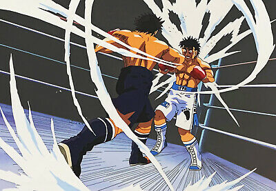 HUGE HAJIME NO IPPO - FIGHTING SPIRIT - Original Anime Production Cel Setup 122