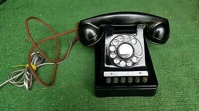 Vintage 1950s Working Western Electric 6 button Key Telephone