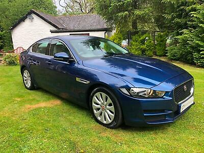 Jaguar XE 2.0TD ( 163ps ) 2016MY Prestige bluefire with cream leather
