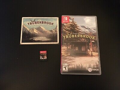 Nintendo Switch TruberBrook Game Complete CIB,Travel Guide Visit