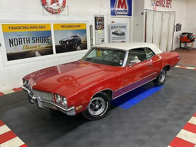1972 Buick Skylark - CONVERTIBLE - 350 ENGINE - SUMMER CRUISER - SEE Red Buick Skylark with 93,565 Miles available now!