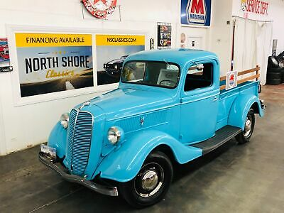 1937 Ford Other Pickups -PRICE DROP - 350 SBC ENGINE - SUPER CLEAN BODY AN 1937 Ford Pickup, Aqua with 5,310 Miles available now!