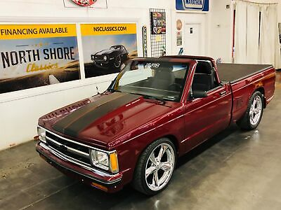 1983 Chevrolet S-10 -CUSTOM SHOW TRUCK - REMOVABLE TOP - 383 STROKER - Chevrolet S-10 Burgundy/Maroon with 87,242 Miles, for sale!