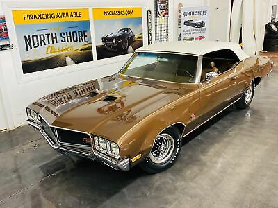 1970 Buick GS - CONVERTIBLE - 455 ENGINE - NUMBERS MATCHING - SE 1970 Buick GS for sale!