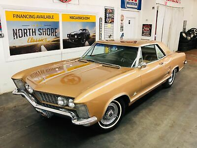 1964 BUICK Riviera -Classic Beauty-SEE VIDEO- BUICK Riviera Gold with 45,450 Miles, for sale!