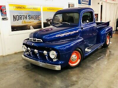 1951 Ford Other Pickups -F1 MODEL HOTROD PICK UP- 1951 Ford Pickup, Blue with 19,764 Miles available now!