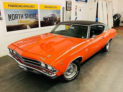 1969 Chevrolet Chevelle Clean Tribute SS - SEE VIDEO - Orange Chevrolet Chevelle with 54,428 Miles available now!