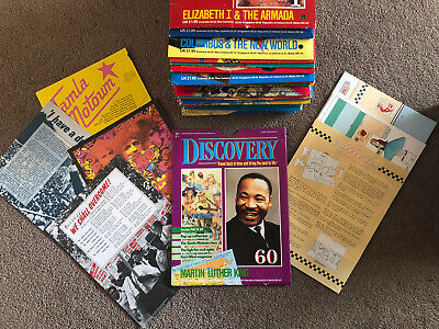 Collection Of 60 Marshall Cavendish Discovery History Publications - Late 1980's
