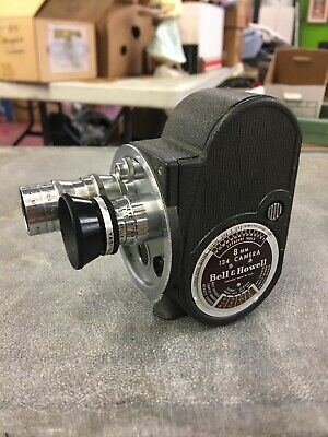 Bell & Howell 8mm Movie Camera Model 134 With 4 Lenses