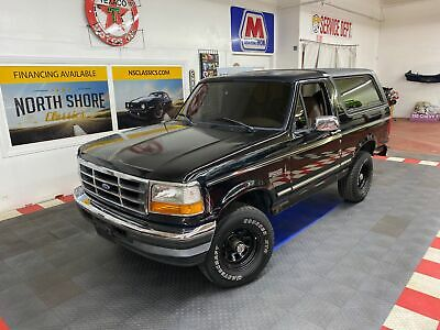 1996 Ford Bronco XLT - SEE VIDEO - Ford Bronco Black with 114,419 Miles, for sale!