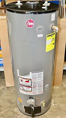 RHEEM G50-60N Natural Gas Commercial Water Heater 48 GAL 120 VAC