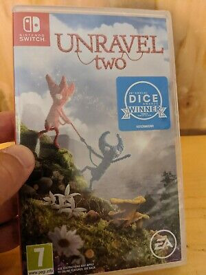 Unravel Two. Nintendo Switch. No Reserve. SEALED.