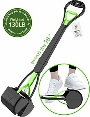"""TIMINGILA 28"""" Long Handle Pet Pooper Scooper for Dogs and Cats with High Strengt"""