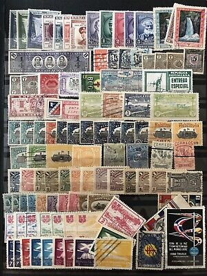 Dominican Republic Two Stockcards With Stamps
