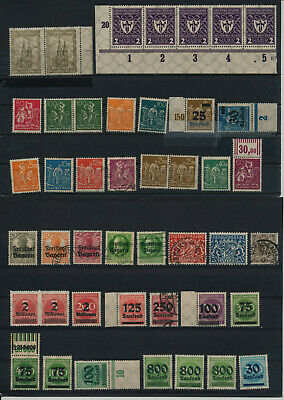 Germany, Deutsches Reich, Nazi, liquidation collection, stamps, Lot,used (RU 28)