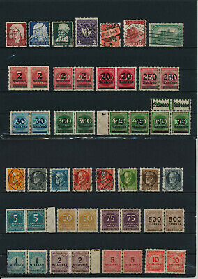 Germany, Deutsches Reich, Nazi, liquidation collection, stamps, Lot,used (KH 59)