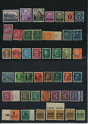 Germany, Deutsches Reich, Nazi, liquidation collection, stamps, Lot,used (RU 18)