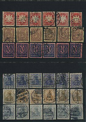 Germany, Deutsches Reich, Nazi, liquidation collection, stamps, Lot,used (KB 33)