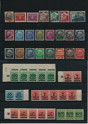 Germany, Deutsches Reich, Nazi, liquidation collection, stamps, Lot,used (KX 67)