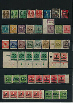 Germany, Deutsches Reich, Nazi, liquidation collection, stamps, Lot,used (KX 62)