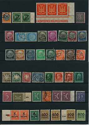 Germany, Deutsches Reich, Nazi, liquidation collection, stamps, Lot,used (RU 23)