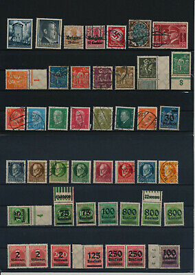 Germany, Deutsches Reich, Nazi, liquidation collection, stamps, Lot,used (RU 26)