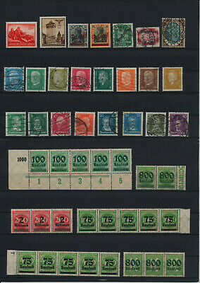 Germany, Deutsches Reich, Nazi, liquidation collection, stamps, Lot,used (RU 24)