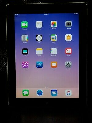 Apple iPad 4th Gen. 32GB, Wi-Fi, 9.7in - Black #216