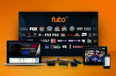 FuboTV Ultra Account Worldwide Live Sport TV 1 Year Subscription 100+ Channels