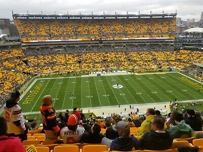 (2) Pittsburgh Steelers vs Cincinnati Bengals Tickets Section 533 Row S