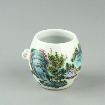 Chinese Exquisite Handmade porcelain Bird Food pot