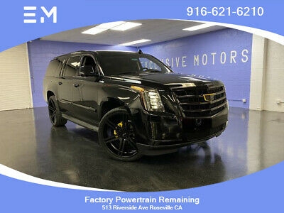 2015 Cadillac Escalade Luxury Sport Utility 4D 2015 Cadillac Escalade ESV, Black with 50,807 Miles available now!