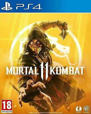 Mortal Kombat 11 (PS4) Brand New & Sealed UK PAL Free UK Postage