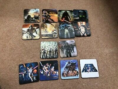 Star Wars Hologram And Traditional Coasters X 14