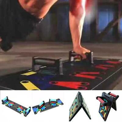 Push Up Rack Board Fitness Exercise Workout Equipment Push-up Stands 0061
