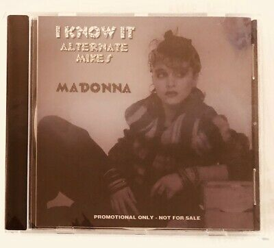 Madonna I Know It Cd Remixes